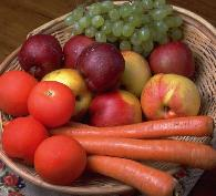 Fruits and Veggies.